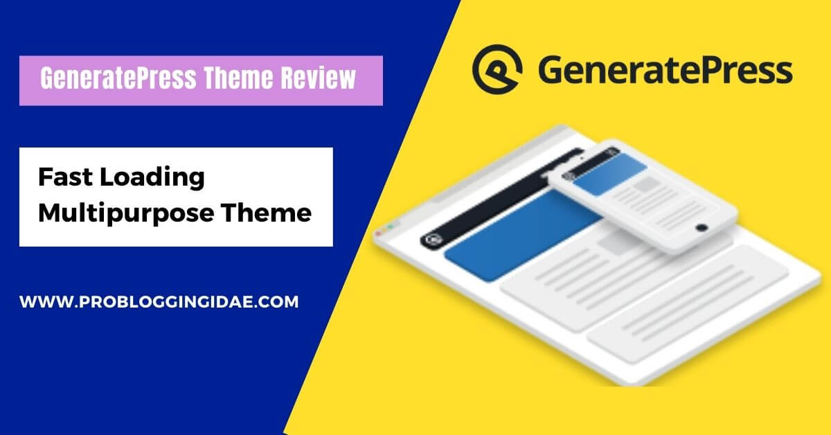 GeneratePress Theme Review
