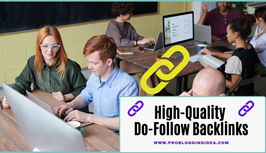 high-quality do-follow backlinks