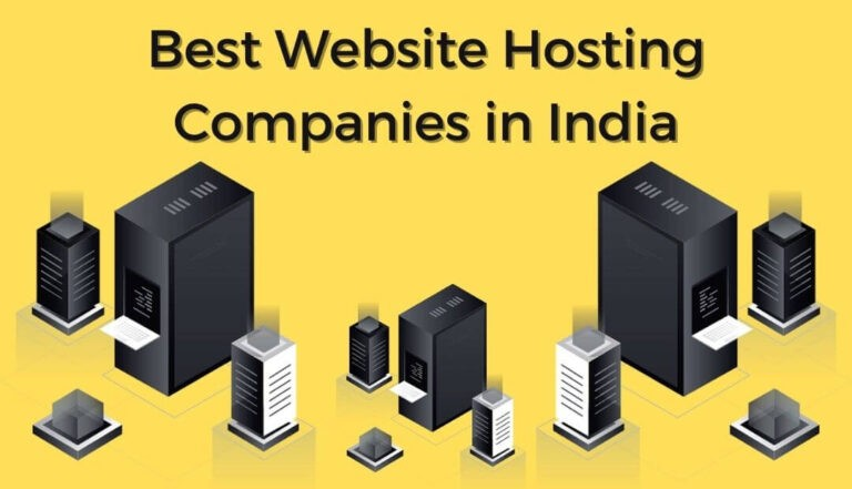 Best website hosting companies in India