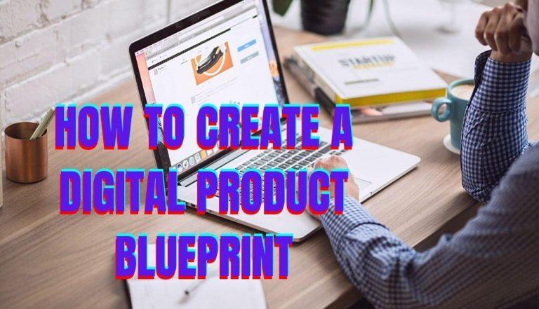 digital product blueprint