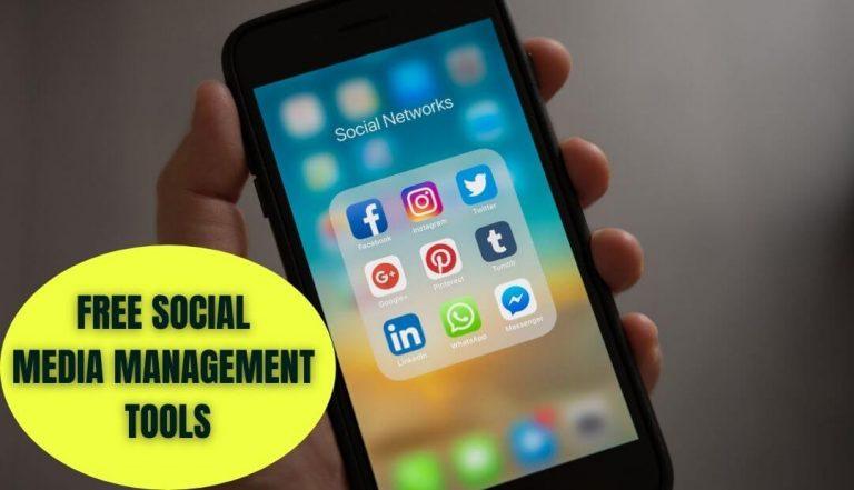 free social media management tools